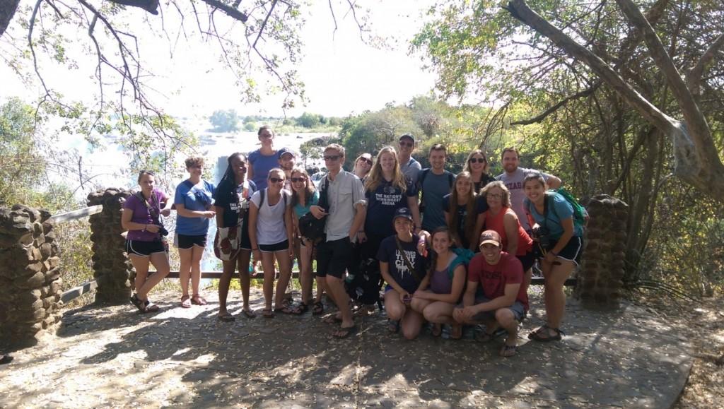 Lauren Group at the Falls